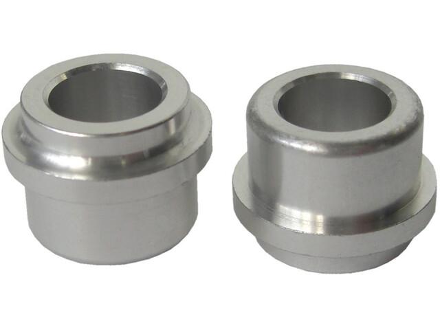 SR Suntour Anillo del amortiguador Casquillos de aluminio - para 35mm de espesor / 12,7mm Plateado